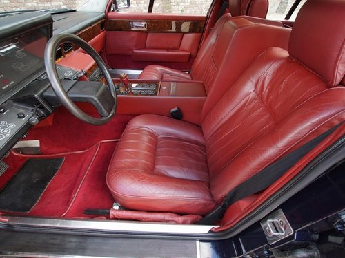 1985 Aston Martin Lagonda Tickford, Special order by Royal Sultan For Sale (picture 3 of 6)