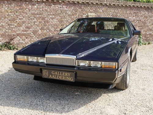 1985 Aston Martin Lagonda Tickford, Special order by Royal Sultan For Sale (picture 5 of 6)