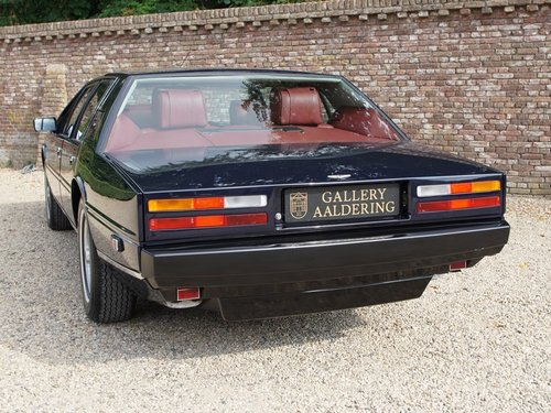 1985 Aston Martin Lagonda Tickford, Special order by Royal Sultan For Sale (picture 6 of 6)