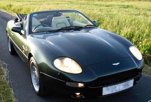 1996 ASTON MARTIN DB7 VOLANTE RARE MANUAL CAR For Sale (picture 2 of 6)