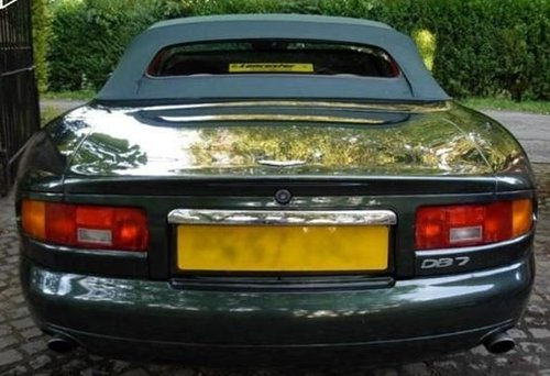 1996 ASTON MARTIN DB7 VOLANTE RARE MANUAL CAR For Sale (picture 3 of 6)