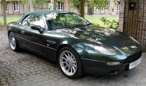 1996 ASTON MARTIN DB7 VOLANTE RARE MANUAL CAR For Sale (picture 4 of 6)