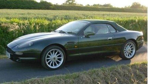 1996 ASTON MARTIN DB7 VOLANTE RARE MANUAL CAR For Sale (picture 5 of 6)