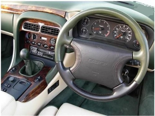 1996 ASTON MARTIN DB7 VOLANTE RARE MANUAL CAR For Sale (picture 6 of 6)