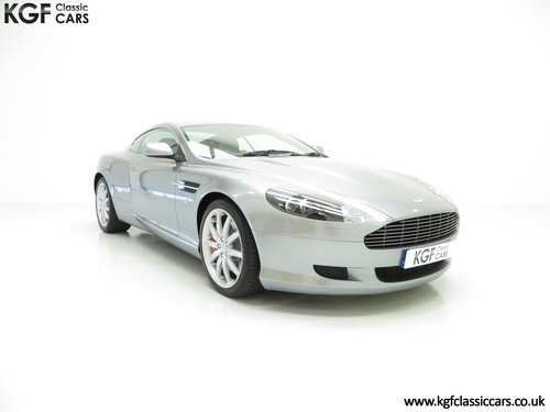 2005 A Thoroughbred Aston Martin DB9 with Only 10,920 Miles SOLD (picture 1 of 6)