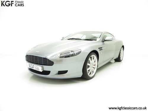 2005 A Thoroughbred Aston Martin DB9 with Only 10,920 Miles SOLD (picture 2 of 6)