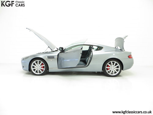 2005 A Thoroughbred Aston Martin DB9 with Only 10,920 Miles SOLD (picture 3 of 6)