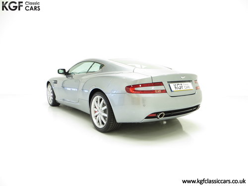 2005 A Thoroughbred Aston Martin DB9 with Only 10,920 Miles SOLD (picture 4 of 6)