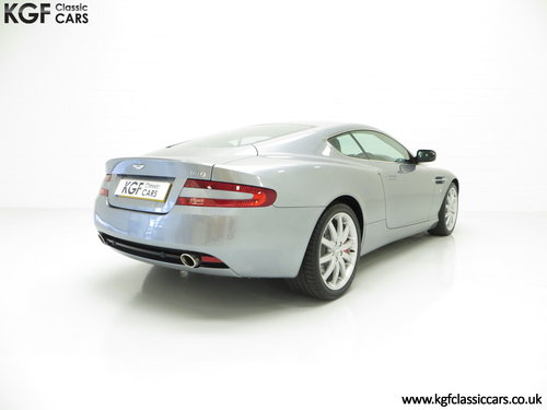 2005 A Thoroughbred Aston Martin DB9 with Only 10,920 Miles SOLD (picture 5 of 6)