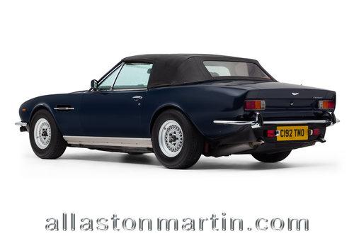 1986 Rare Aston Martin V8 Volante Series II FI Manual For Sale (picture 3 of 6)