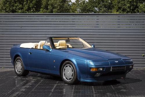 1989 ASTON MARTIN  V8 ZAGATO VOLANTE For Sale (picture 1 of 6)