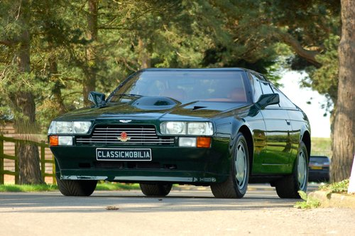 1987 Aston Martin V8 Vantage Zagato Coupe For Sale (picture 1 of 6)