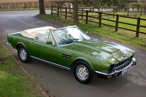 1981 Aston Martin V8 Volante  For Sale (picture 1 of 6)
