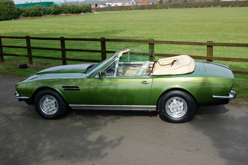 1981 Aston Martin V8 Volante  For Sale (picture 2 of 6)
