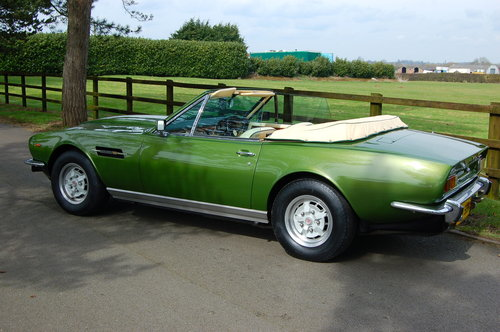 1981 Aston Martin V8 Volante  For Sale (picture 3 of 6)