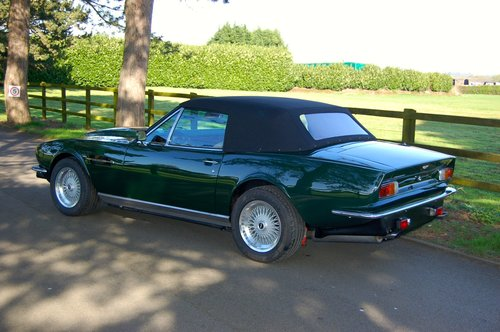 1982 Aston Martin V8 Volante Left Hand Drive Manual For Sale (picture 2 of 6)