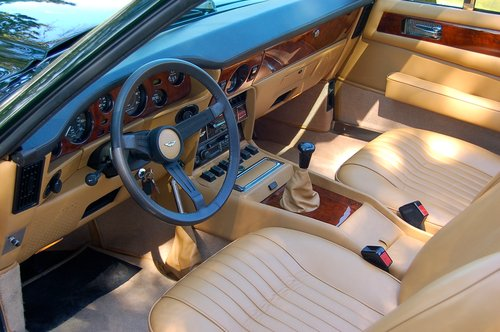 1982 Aston Martin V8 Volante Left Hand Drive Manual For Sale (picture 5 of 6)