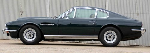 1973 Aston Martin V8 Saloon series 3 LHD SOLD (picture 2 of 6)