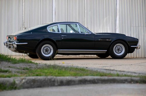 1973 Aston Martin V8 Saloon series 3 LHD SOLD (picture 4 of 6)