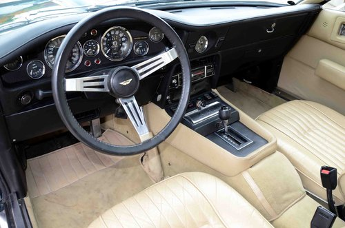 1973 Aston Martin V8 Saloon series 3 LHD SOLD (picture 6 of 6)