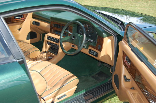 1991 Aston Martin Virage coupe For Sale (picture 5 of 6)