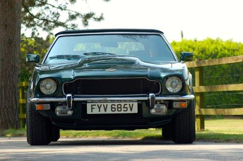 1979 Aston Martin V8 Volante Manual For Sale (picture 2 of 6)
