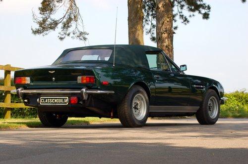 1979 Aston Martin V8 Volante Manual For Sale (picture 3 of 6)
