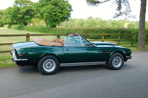 1979 Aston Martin V8 Volante Manual For Sale (picture 4 of 6)