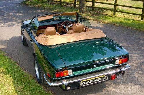 1979 Aston Martin V8 Volante Manual For Sale (picture 5 of 6)