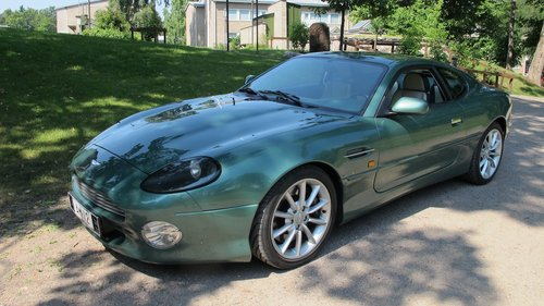 1999 Aston Martin DB7 Vantage Coupe Left Hand Drive Manual For Sale (picture 1 of 6)