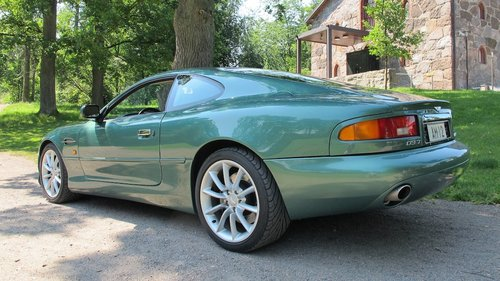 1999 Aston Martin DB7 Vantage Coupe Left Hand Drive Manual For Sale (picture 2 of 6)