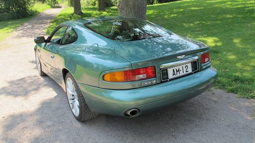 1999 Aston Martin DB7 Vantage Coupe Left Hand Drive Manual For Sale (picture 3 of 6)