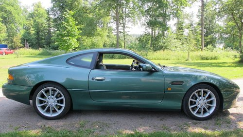 1999 Aston Martin DB7 Vantage Coupe Left Hand Drive Manual For Sale (picture 4 of 6)
