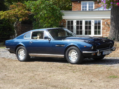 1978 Aston Martin V8 Saloon Oscar India For Sale (picture 2 of 6)