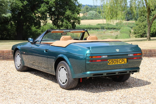 1990 Aston Martin V8 Zagato Vantage Volante - Hunter Green For Sale (picture 6 of 6)