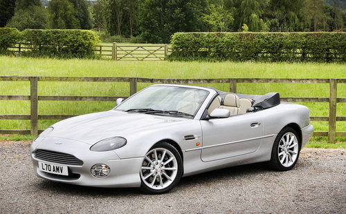 2002 Aston Martin DB7 Vantage Volante **SOLD** For Sale (picture 1 of 6)