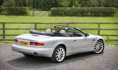 2002 Aston Martin DB7 Vantage Volante **SOLD** For Sale (picture 2 of 6)