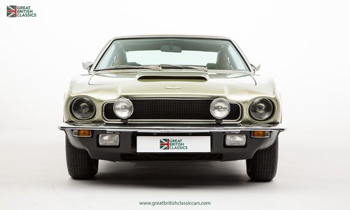 1973 ASTON MARTIN VANTAGE // 1 OF 70 // RARE 5 SPEED MANUAL For Sale (picture 1 of 6)