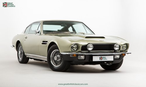 1973 ASTON MARTIN VANTAGE // 1 OF 70 // RARE 5 SPEED MANUAL For Sale (picture 3 of 6)