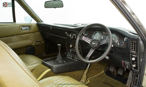 1973 ASTON MARTIN VANTAGE // 1 OF 70 // RARE 5 SPEED MANUAL For Sale (picture 4 of 6)
