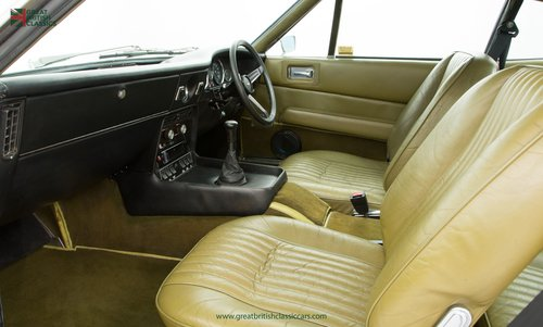 1973 ASTON MARTIN VANTAGE // 1 OF 70 // RARE 5 SPEED MANUAL For Sale (picture 5 of 6)