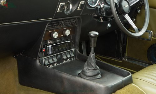 1973 ASTON MARTIN VANTAGE // 1 OF 70 // RARE 5 SPEED MANUAL For Sale (picture 6 of 6)