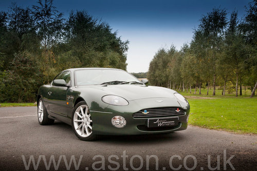 2002 Aston Martin DB7 Vantage SOLD (picture 1 of 6)