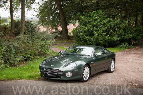 2002 Aston Martin DB7 Vantage SOLD (picture 2 of 6)