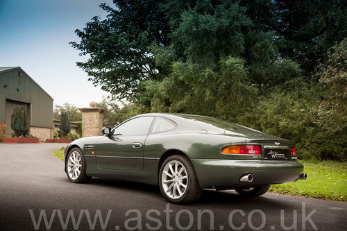 2002 Aston Martin DB7 Vantage SOLD (picture 3 of 6)