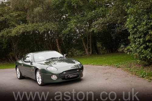 2002 Aston Martin DB7 Vantage SOLD (picture 5 of 6)