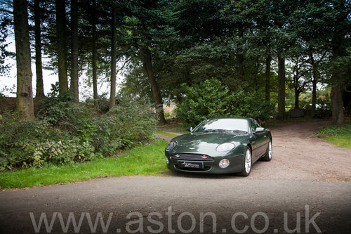 2002 Aston Martin DB7 Vantage SOLD (picture 6 of 6)