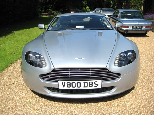 2006 Aston Martin V8 Vantage With Full Aston Main Agent History For Sale (picture 6 of 6)