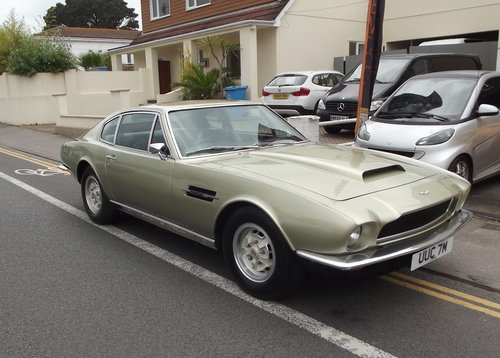 1973 ASTON MARTIN V8 COUPE SOLD (picture 2 of 6)