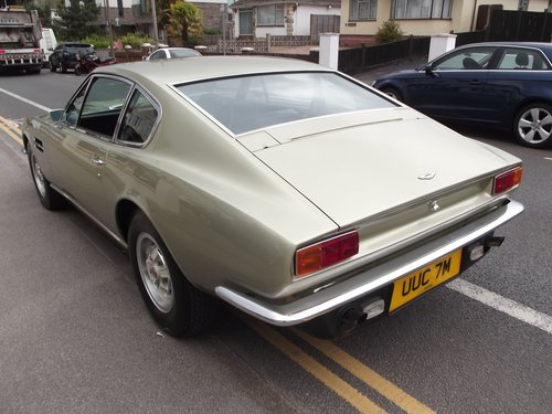 1973 ASTON MARTIN V8 COUPE SOLD (picture 4 of 6)